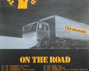Original 1978 Tom Robinson '2-4-6-8 Motorway' Tour Poster