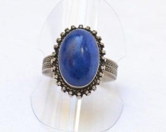 Lapis Ring   US 6.5