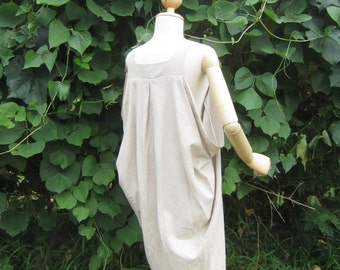 Organic Cotton / Ebony Dyed / Oversized Dress / Resort Style / BNP008