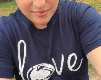 PENN STATE LOVE infant/toddler- psu, nittany lion, football, we are, college football