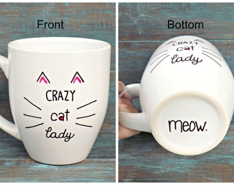 """Shop """"crazy cat lady"""" in Home & Living"""