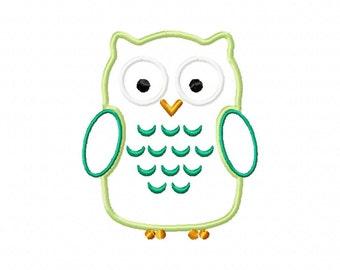 Chic Owl Applique