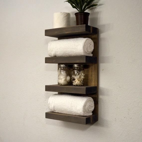 hotel style towel rack 4 tier bath storage by. Black Bedroom Furniture Sets. Home Design Ideas