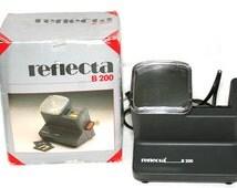 Reflecta B 200 Vintage 5x5 Mains Operated 220V EU plug Slide Viewer in box