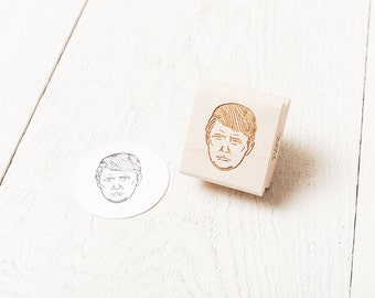 Donald Trump Rubber Stamp