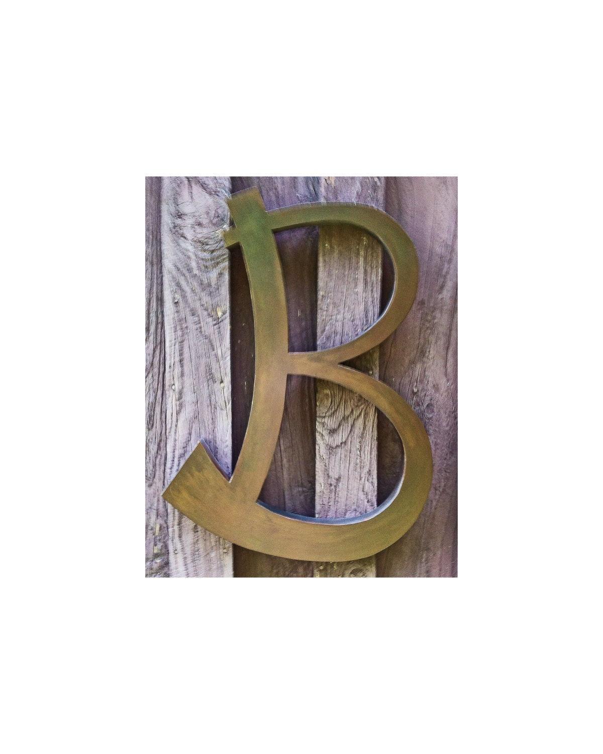 24 Fancy Nail Art Designs That You Ll Love: Custom 24 Letter B Decorative Metal Letter