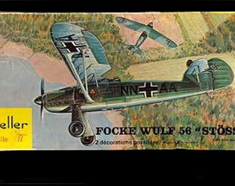 "Heller Focke WULF 56 ""STOSSER"" Model Kit"