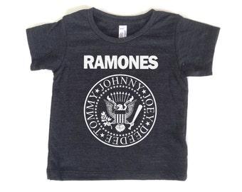 Ramones youth t-shirt - screen printed kids tee