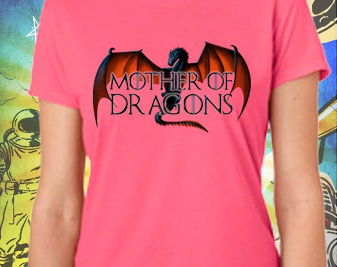 Game of Thrones S6 Mother of Dragons Women's Pink T-Shirt Mother of Dragons