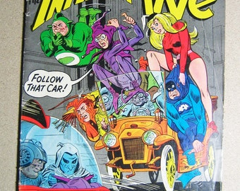 Old Comic Book, The Inferior Five #1, First Publication, DC Comics, National Comics, Comic Book, Vintage Comic Book, Collectible, Super Hero