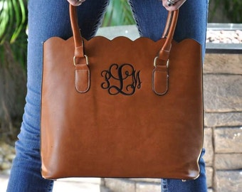 Mongram Purse - Monogrammed Tote - Bridesmaid Gift - Monogrammed Handbag - Gifts for Her - Mothers Day Gift - Fall Bridesmaid Gift