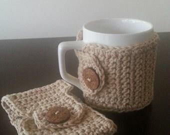 Coffee Mug Cozy Set