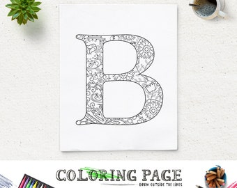 81 Coloring Book Pages Alphabet
