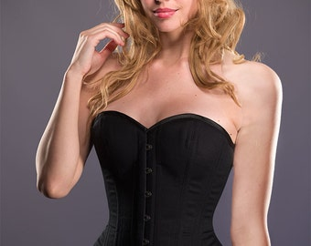 Overbust Training Corset with Busk