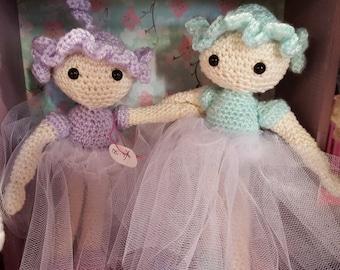 Amigurumi Tiny Dancers Ballerinas