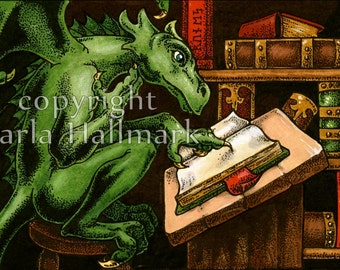 Librarian Dragon
