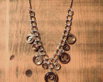 Clock Mainspring Necklace
