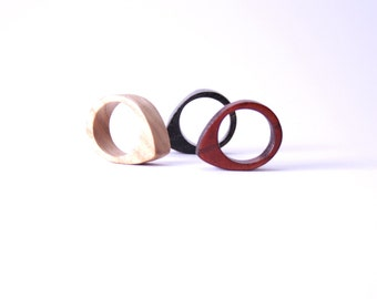 Wooden Ring - Carrie