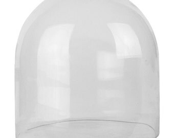 Glass Cloche Bell Dome with 12 inches Height and 12 inches Diameter - GDO106