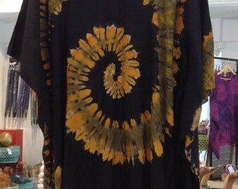 Summer Tops, V Poncho Blouse, Round Neck With Frills