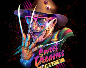 Sweet Dreams are Made of This (80's pop parody Freddy Krueger horror villain music Eurythmics Nightmare on Elm Street Wes Craven)
