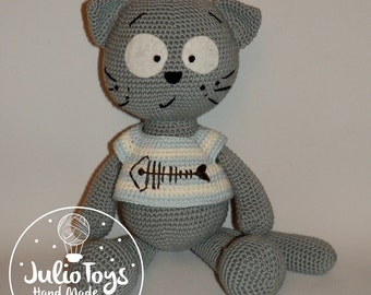 Cat Matt - crochet-  PDF Pattern