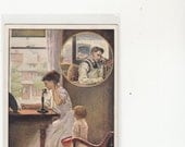 Official Undivided Antique Postcard Bell Telephone Ad Call The Grocery Store Urging People To Get Phone Service Unused