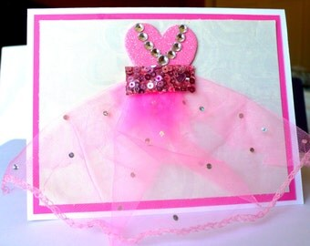 Princess Card, Kids Birthday Card, Birthday Card, Girl Birthday, Princess Birthday card, Girl Birthday card, Princess Invitations, girl card