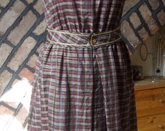 1970s fit and flare dress by 'Daniel'