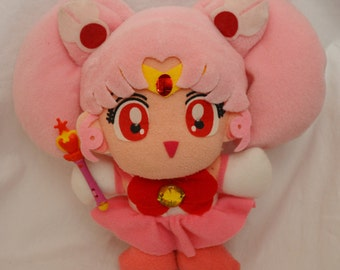 Pretty Soldier Sailormoon S Banpresto Sailorchibimoon Plush Doll
