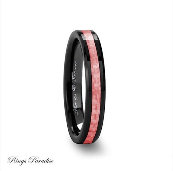 Women Ceramic Ring Black Ceramic Ring Women Wedding Bands