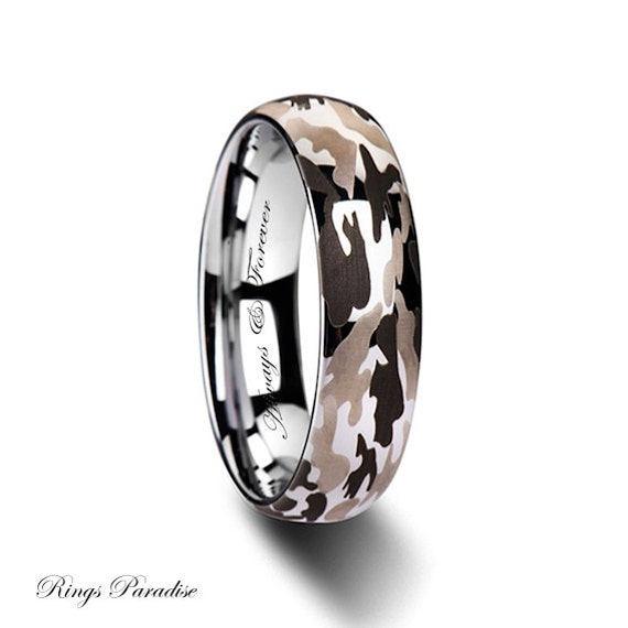 6mm 10mm personalized tungsten band promise rings tungsten