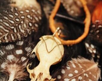 Squirrel Skull Pendant