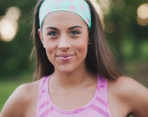 Anchors | Fitness headband | Yoga headband | Fashion headband | Workout headband | Non-slip Headband | Mint | Buy Any 4, Get 1 FREE!