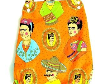 Frida Kahlo Baby or Toddler Sunsuit Bubble Romper