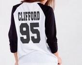 Michael Clifford Shirt Baseball Jersey Raglan Tee Shirts T-shirt Women TShirts