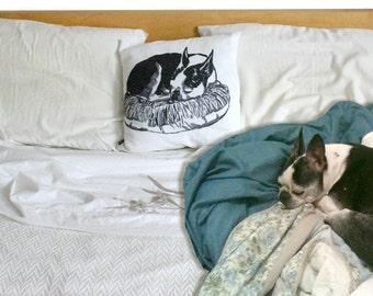 Pet Pillow Portraits - Personalized Dog Pillow - Personalized Pillow - Cushion