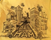 Large- The Buzz About Bee-Ham: Yellow
