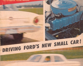 MOTOR TREND OCTOBER 1959 Motor Cars Scarce Vintage Automobiles Magazine
