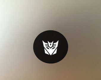 Decepticon vinyl decal/sticker for Macbook Air & Pro