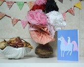 Unicorn and Otter Card