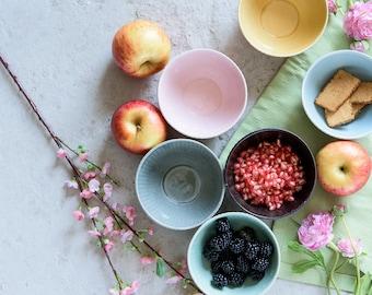 Ceramic Bowls set, Ceramic Serving bowl,Ceramic Dish, Ceramic Cereal bowl, Ice Cream Bowl,Decorative Ceramic Bowls