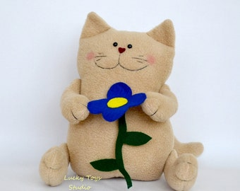 Birthday Gift Cat Stuffed Animals/ Cat Stuffed for Any Occasion/ Plushies/ Plush Cat/ Stuffed Cat