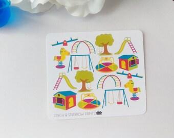 JF-(1) Playground Stickers