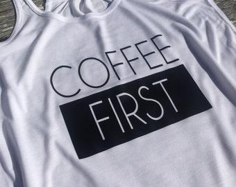 Coffee First Tank