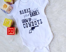 Cowboy baby shower gift/ Baby boy Bodysuit/ Waylon Jennings/ Country Baby/ Country Song Lyrics/ Country Song Shirt/ Western