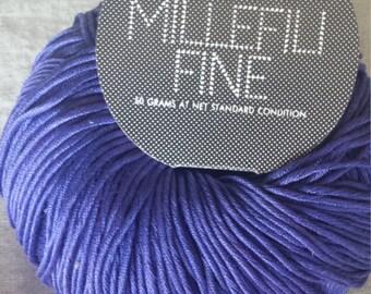 Millefili Fine by Filatura Di Crosa  Periwinkle Blue Color 180