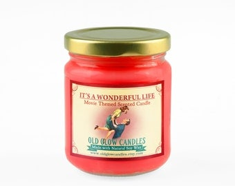 It's a Wonderful Life Inspired Scented Soy Candle - Christmas Candle