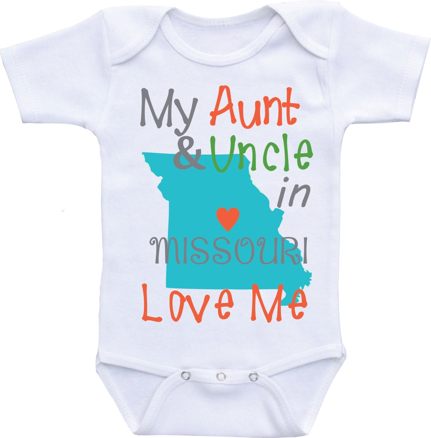 My Aunt and Uncle Love Me esies Auntie shirt from Different States