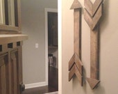 Rustic Wooden Arrow, Gallery Wall Arrow
